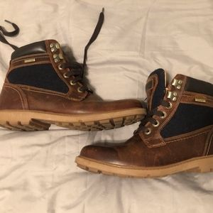 Rockport Leather Boots Mens 7